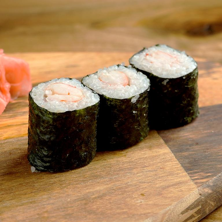 SHRIMP  HOSO MAKI