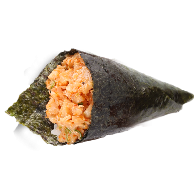 Temaki Spicy Shrimp